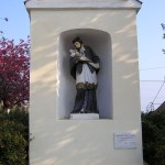 Nepomuki Szent János szobor