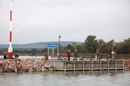 Hajóállomás BH Zrt. Balatonakali