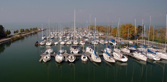 Hunyady József vitorláskikötő