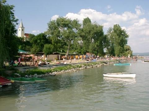 Balatonszepezd Központ strand