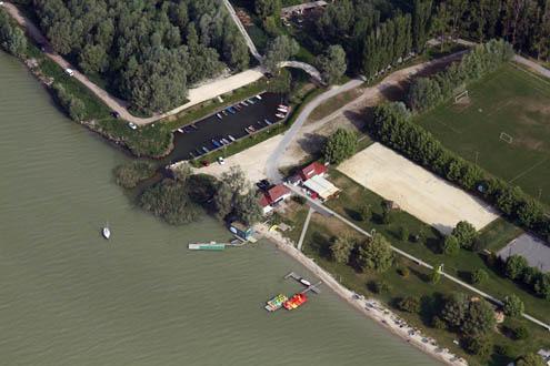 Aranyhíd Horgász Egyesület kikötője