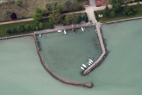 Zamárdi kikötő