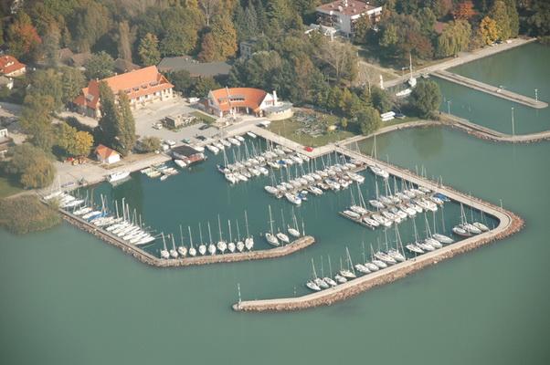 Balatonfői Yacht Club (BFYC) kikötője