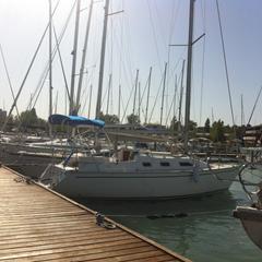 Balatonfüredi Yacht Club (BYC) kikötője