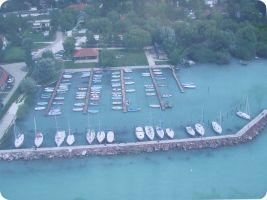 Balatonkenesei Horgász Egyesület kikötője