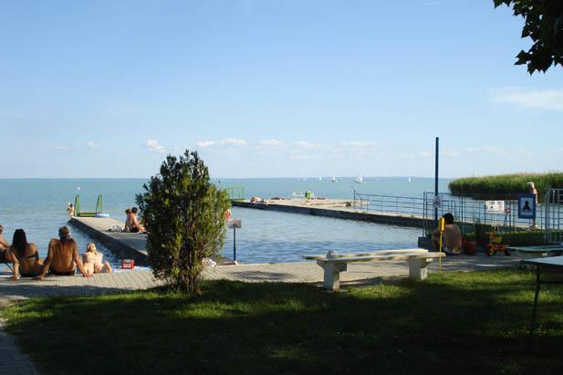 Balatonalmádi Budatavai strand