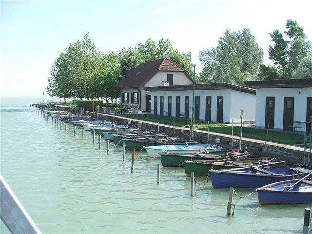 Nitrokémia Horgász Egyesület kikötője