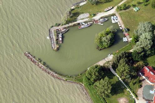 KDT Vízügyi Ig. és Balatoni Halászati Zrt. kikötője