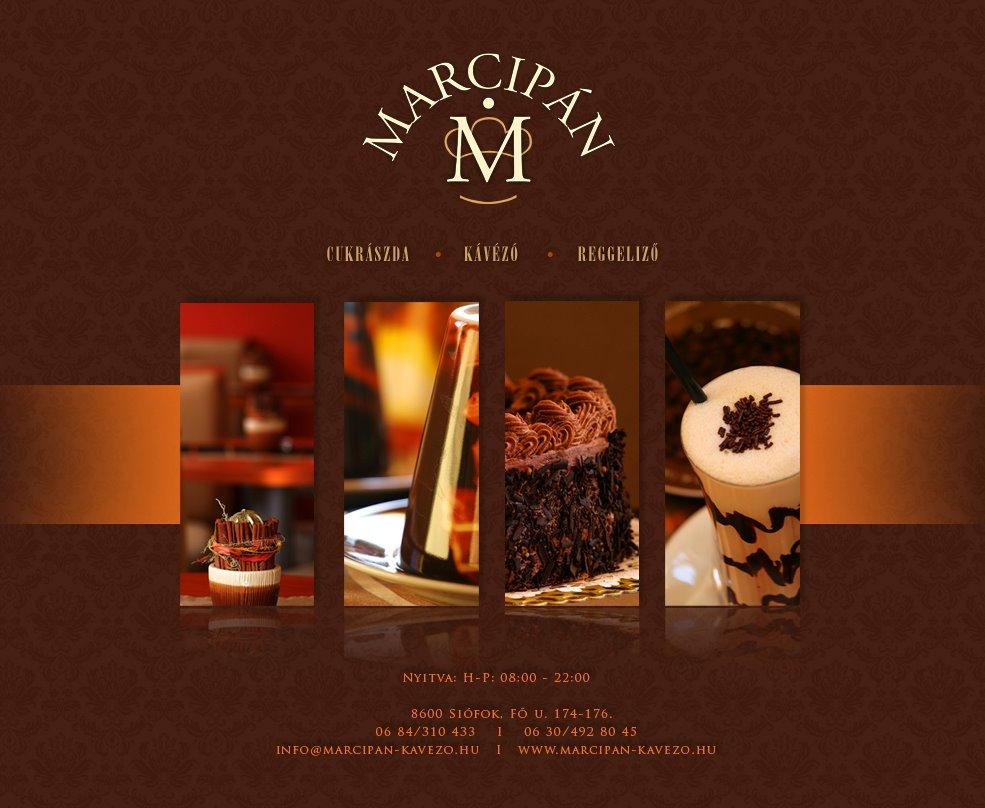 Marcipán Cukrászda Kávézó