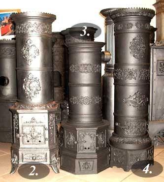 Antik kályhák - magángyűjtemény