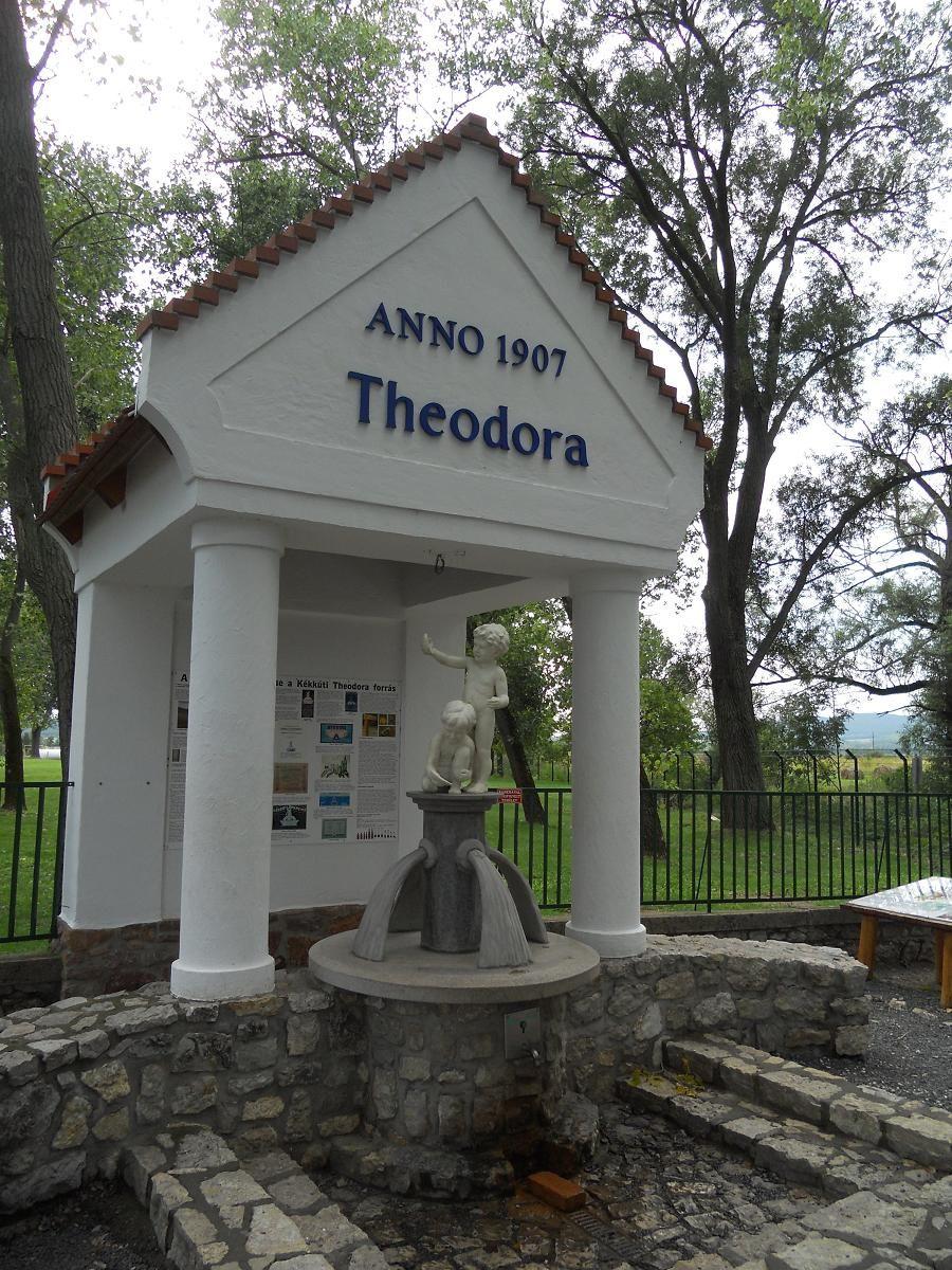 Kékkút - Theodora forrás