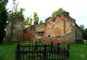 Rádpuszta Árpád-kori templom rom