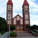 Piros templom