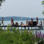 Levendula nudista strand