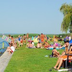 Balatonmáriafürdő központi strand