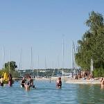 Balatonvilágos Club Aliga strandja