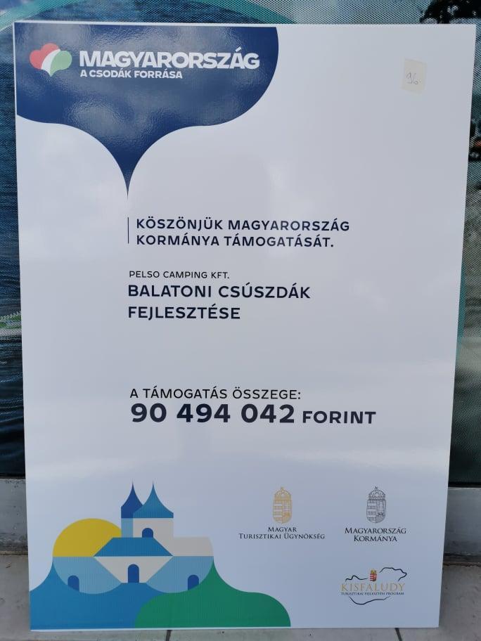 Balatoni vízi csúszdák fejlesztése pályázat - 2020.04.09